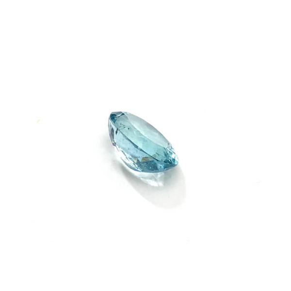 Aquamarin-blau-oval