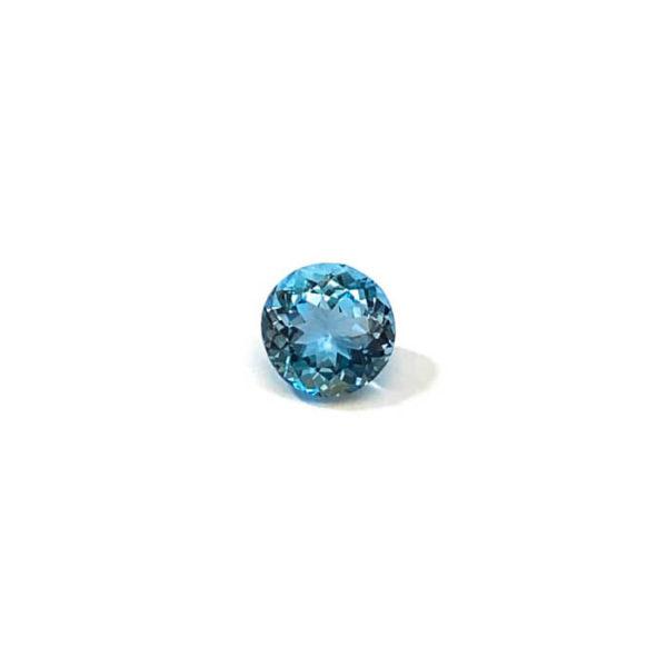 aquamarin blau rund