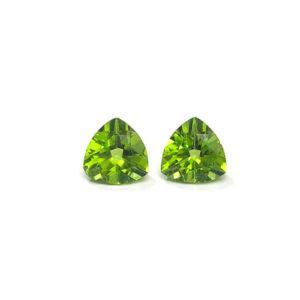 peridot,grün trilliant