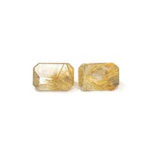 Rutilquarz Gold Transparent