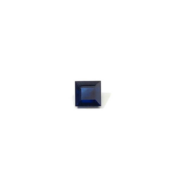 Saphir-blau-carre
