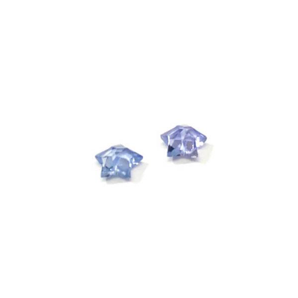 Saphir-blau-stern