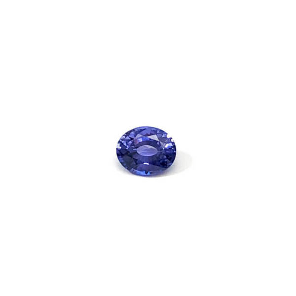Saphir-blau-oval