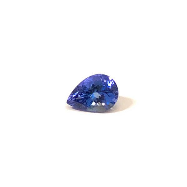 Tansanit,tropfen,blau