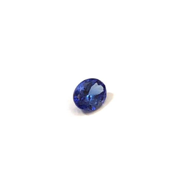 Tansanit-Oval-blau