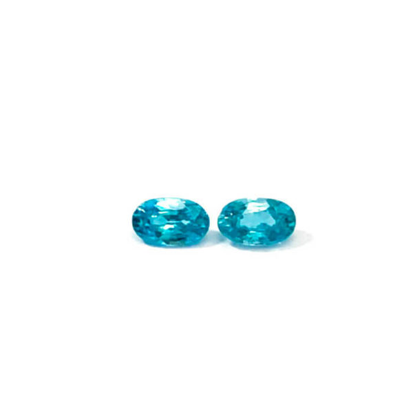 zirkon blau oval