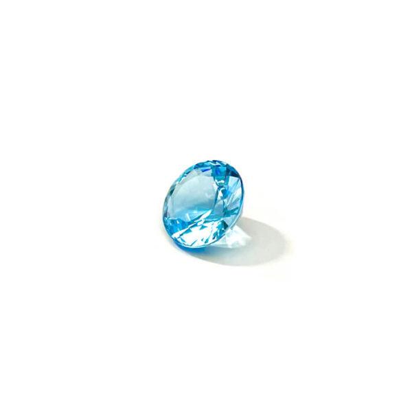 Blautopas-blau-rund