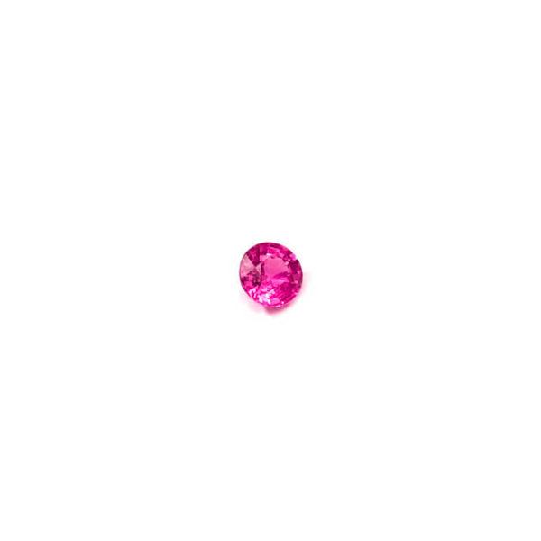 pink, saphir ,rund
