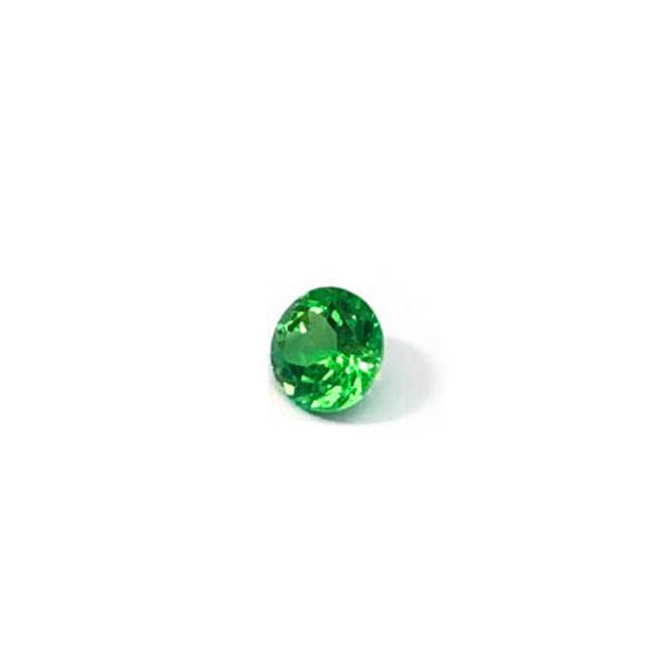 tsavorit grün rund