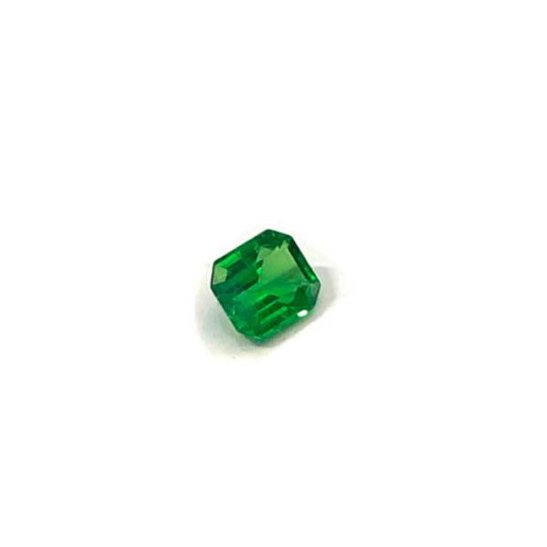 tsavorit grün achteck