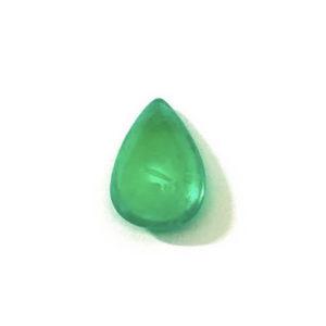 smaragd-cabochon-tropfen-gruen